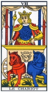 tarot de marseille chariot signification