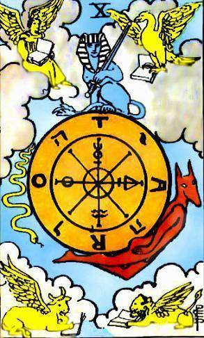 tarot rider waite roue de fortune signification
