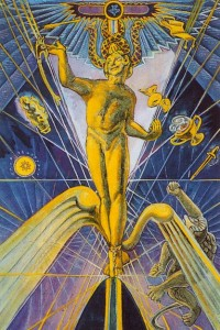 thoth tarot magicien crowley
