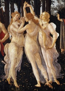 botticelli 3 graces cf 3C