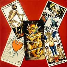 tarot cartes négatives