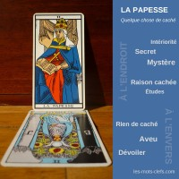 papesse tirage signification