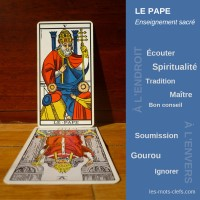 pape tirage signification
