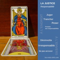 justice tirage signification