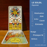 soleil tirage signification