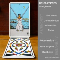 2-depees-tarot-signification-endroit-envers