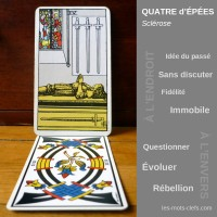 4-depees-tarot-signification-endroit-envers