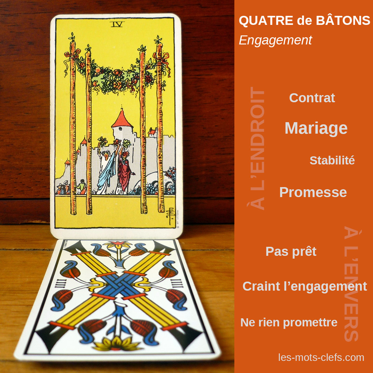 carte 5 du tarot signification