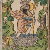 Buxheim St. Christopher, unknown artist, 1423.