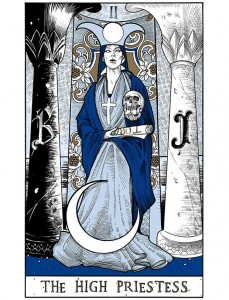 Letterpress Tarot, par Andy Manthei