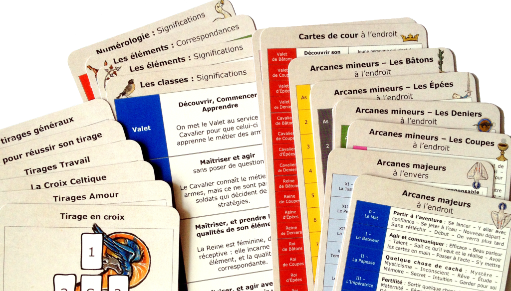 cartes antiseches pense bete tarot tirage significations