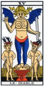 tarot marseille diable signification