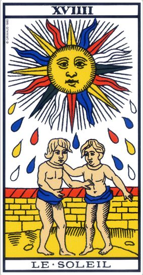 tarot marseille soleil signification