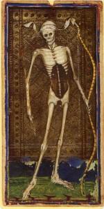 tarot mort