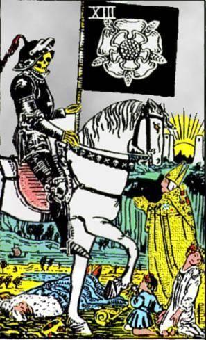 tarot rider waite mort signification