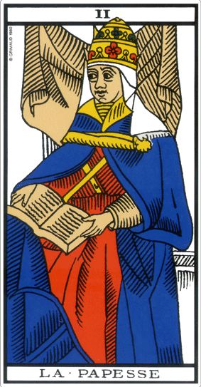 tarot marseille papesse signification