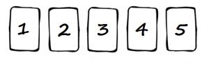 comment tirer tarot cinq cartes