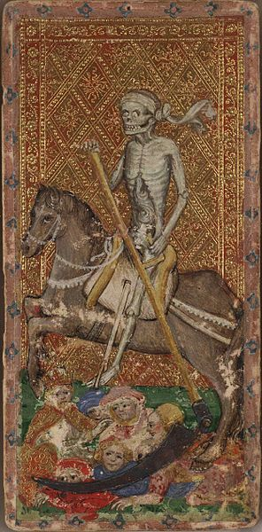 tarot visconti sforza mort XIII 2