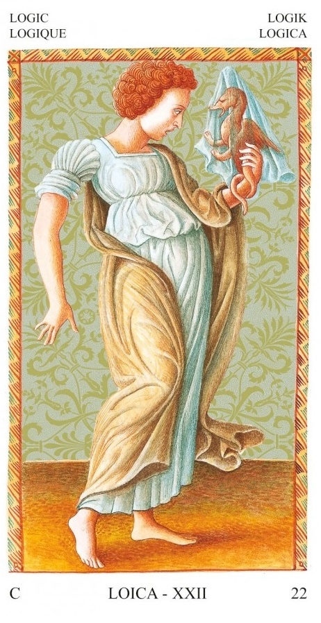 tarot mantegna logique