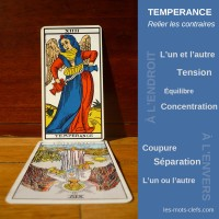 tempérance tirage signification
