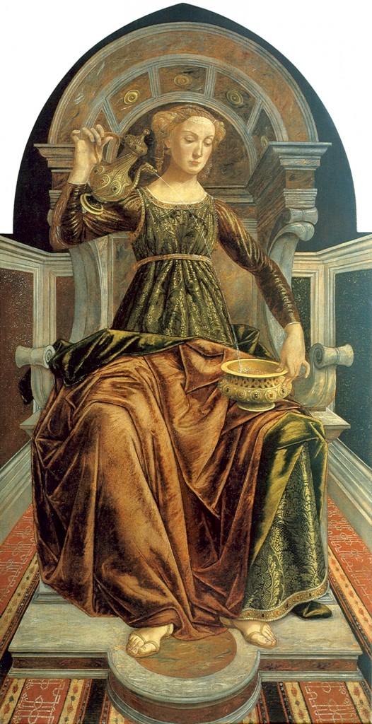 Tempérance, par Piero del Pollaiolo