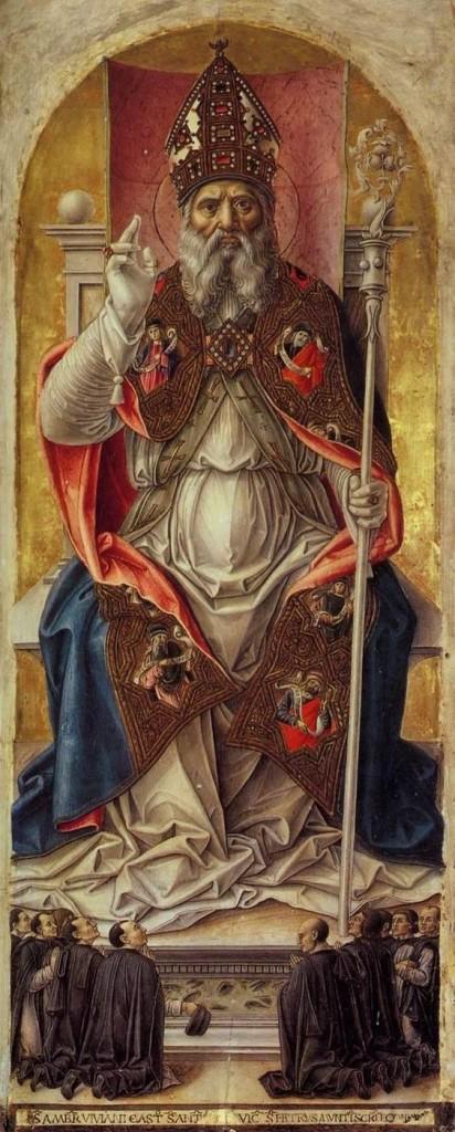 Saint Ambroise, Bartolomeo Vivarini