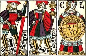 Jeu de cartes espagnol, XVe