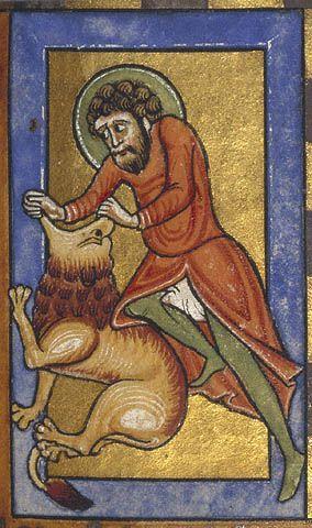 Samson et le lion, Missel Stammheim