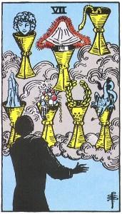 sept de coupes tarot signification