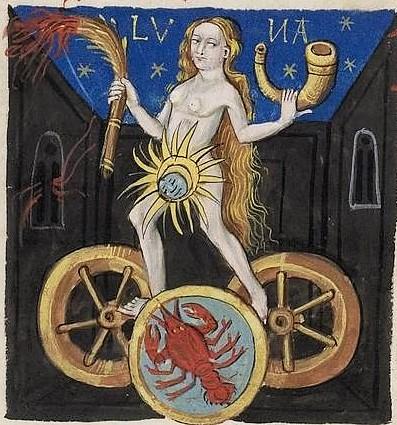 Iatromathematisches Hausbuch (Lune en Cancer)