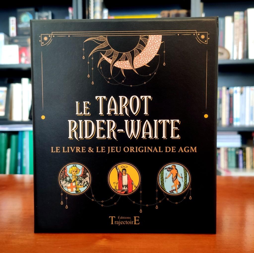 coffret officiel tarot rider waite smith pour débutants